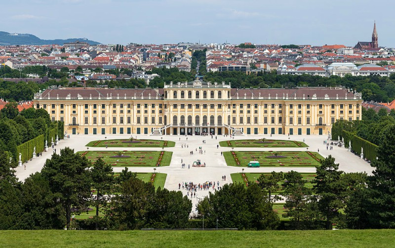 Palača Schonbrunn - Dunaj