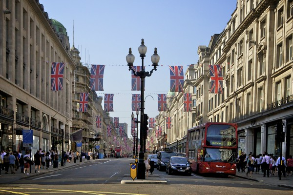 London - sprehod po mestu